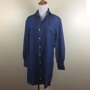 NWOT FRANK & EILEEN MARY Loose Fit Button Shirt